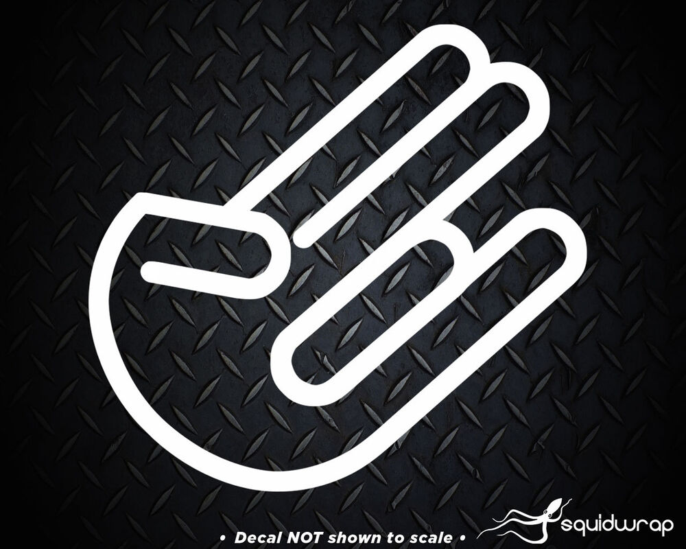 jdm hand logo car interior design