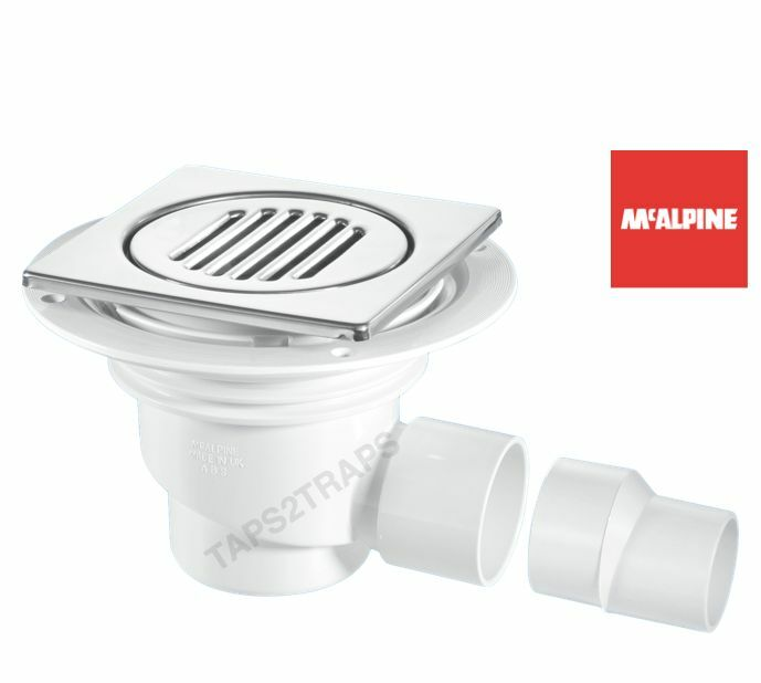 wet room shower trap for tiled flooring by mcalpine