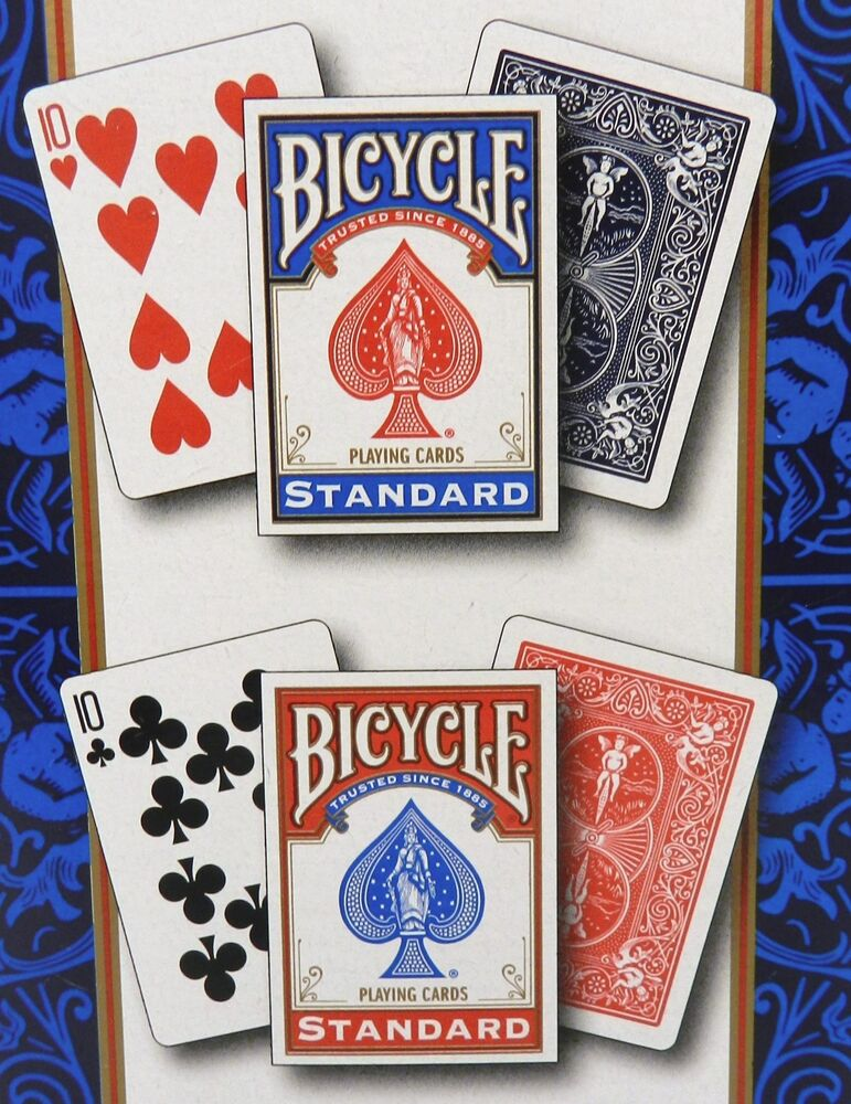 NEW 12 Packs/Decks Of BICYCLE Standard Face Poker Playing