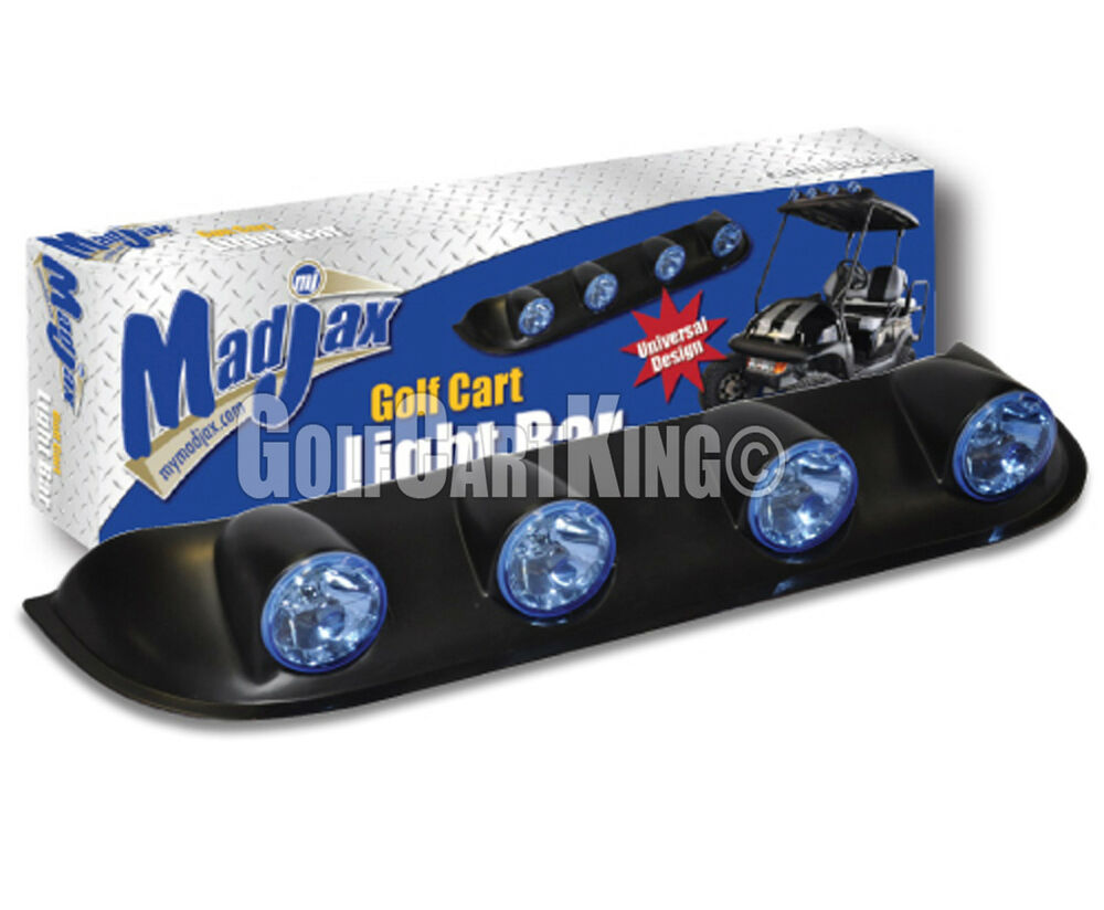 Madjax Off Road Light Bar Kit Ezgo Club Car Yamaha Gas