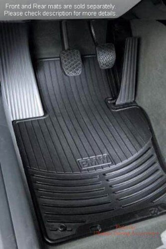 Bmw X3 E83 All Weather Rubber Floor Mats Front Black 82110305566 Ebay