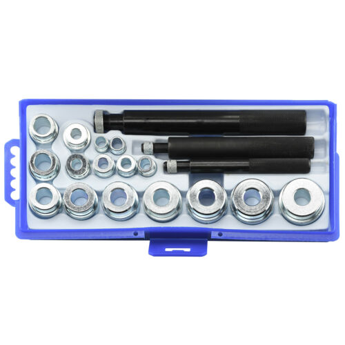 19pc Bearing Race and Seal Driver Set   Automotive Bushing Installer Remover Kit