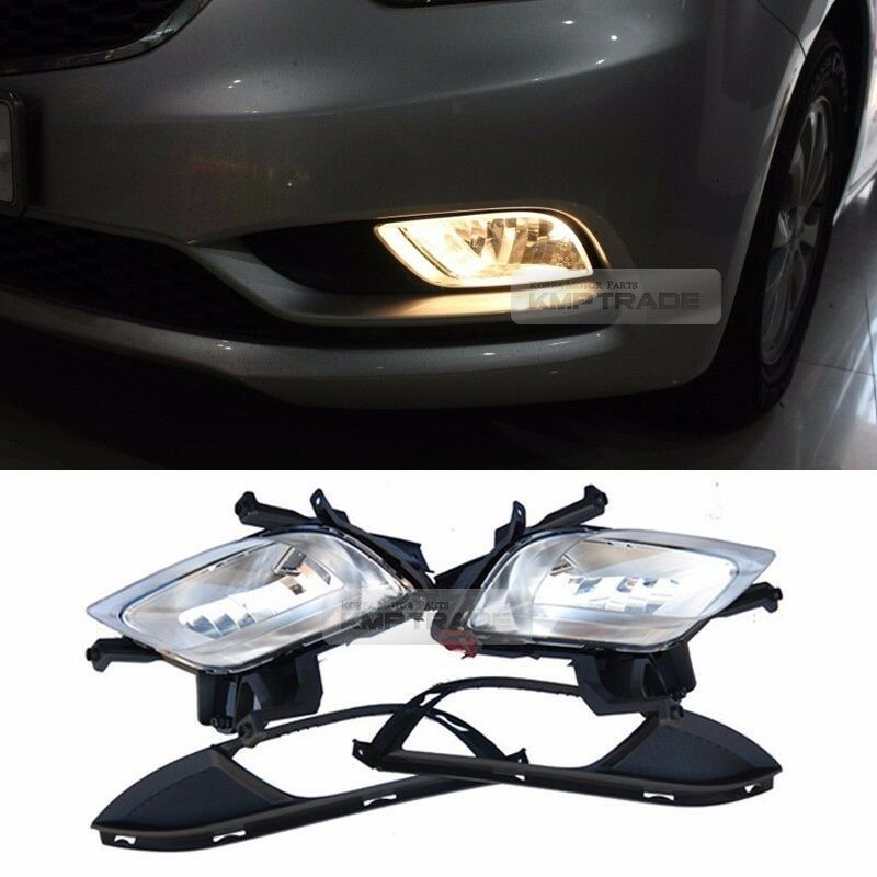oem genuine parts fog light lamp lamp cover for kia 2013. Black Bedroom Furniture Sets. Home Design Ideas