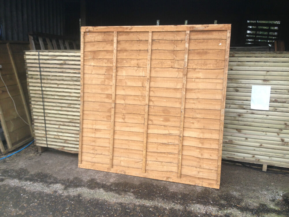 Strong Garden Lap Panels 6ft 5ft Amp 4ft Dip Treated Top