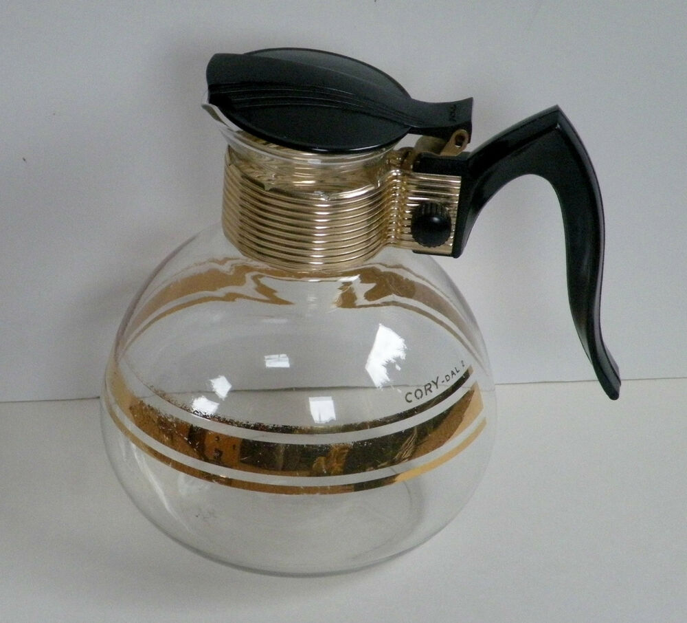 Coffee Maker Pot Replacement : Vintage CORY Glass Coffee Carafe / Pot - replacement part DAL-2 eBay