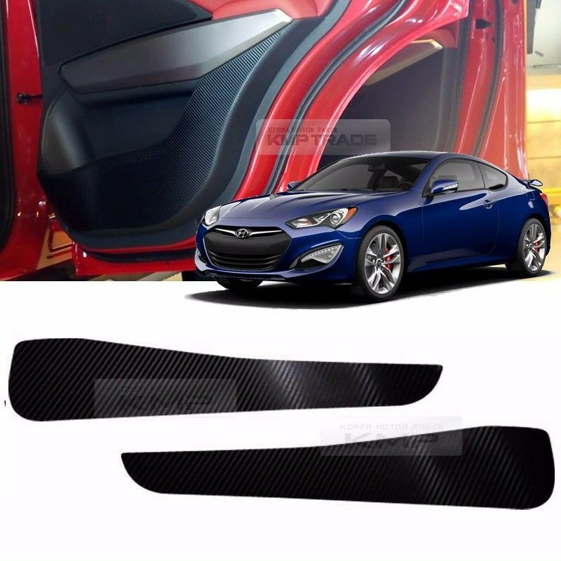 Hyundai Genesis Two Door: Carbon Door Decal Sticker Cover Kick Protector For HYUNDAI