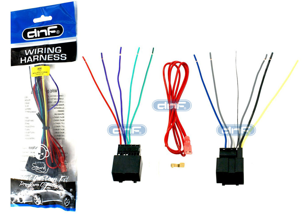 70 2105 Aftermarket Wiring Harness Stereo Adapter For Chevy Impala Gm Pontiac Ebay