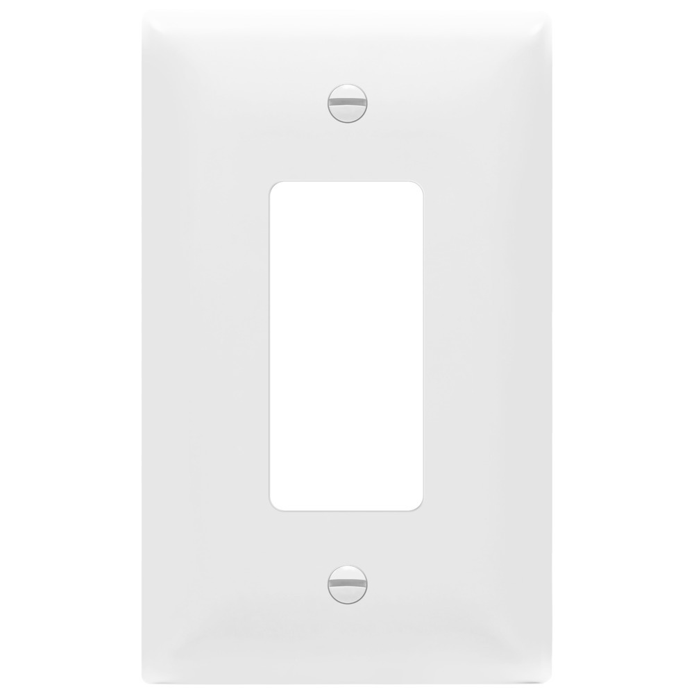 Decorator Wall Switch Plate Oversized Single 1 Gang Outlet