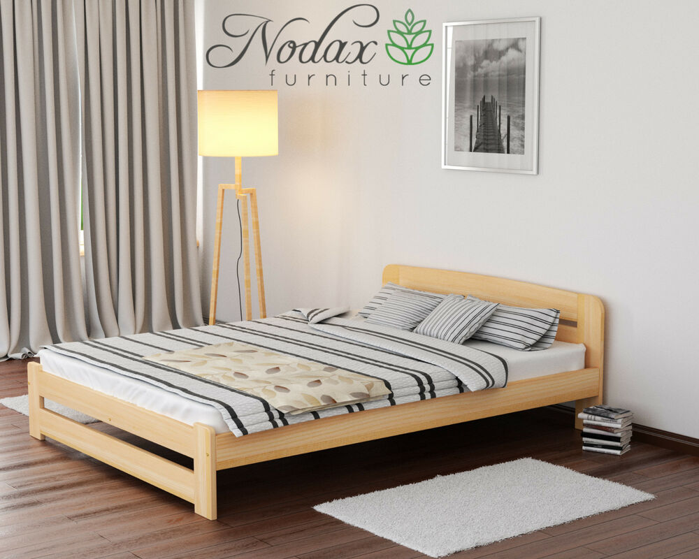 brand new solid pine small double bed frame slats. Black Bedroom Furniture Sets. Home Design Ideas
