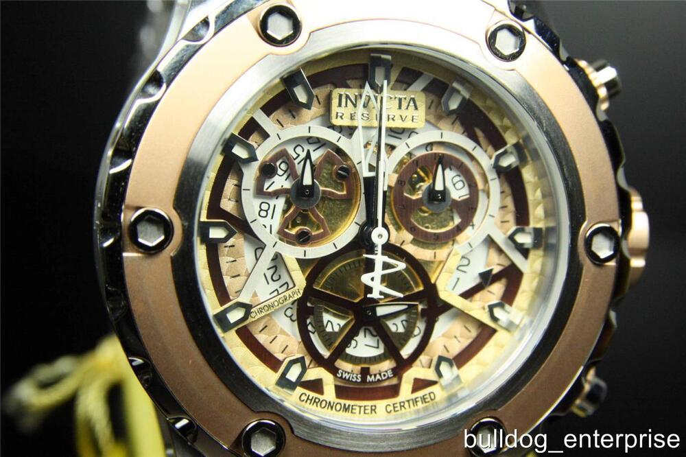 Men invicta reserve subaqua specialty cosc 52mm swiss made chronograph watch new 2724279219311 for Bulltoro watches