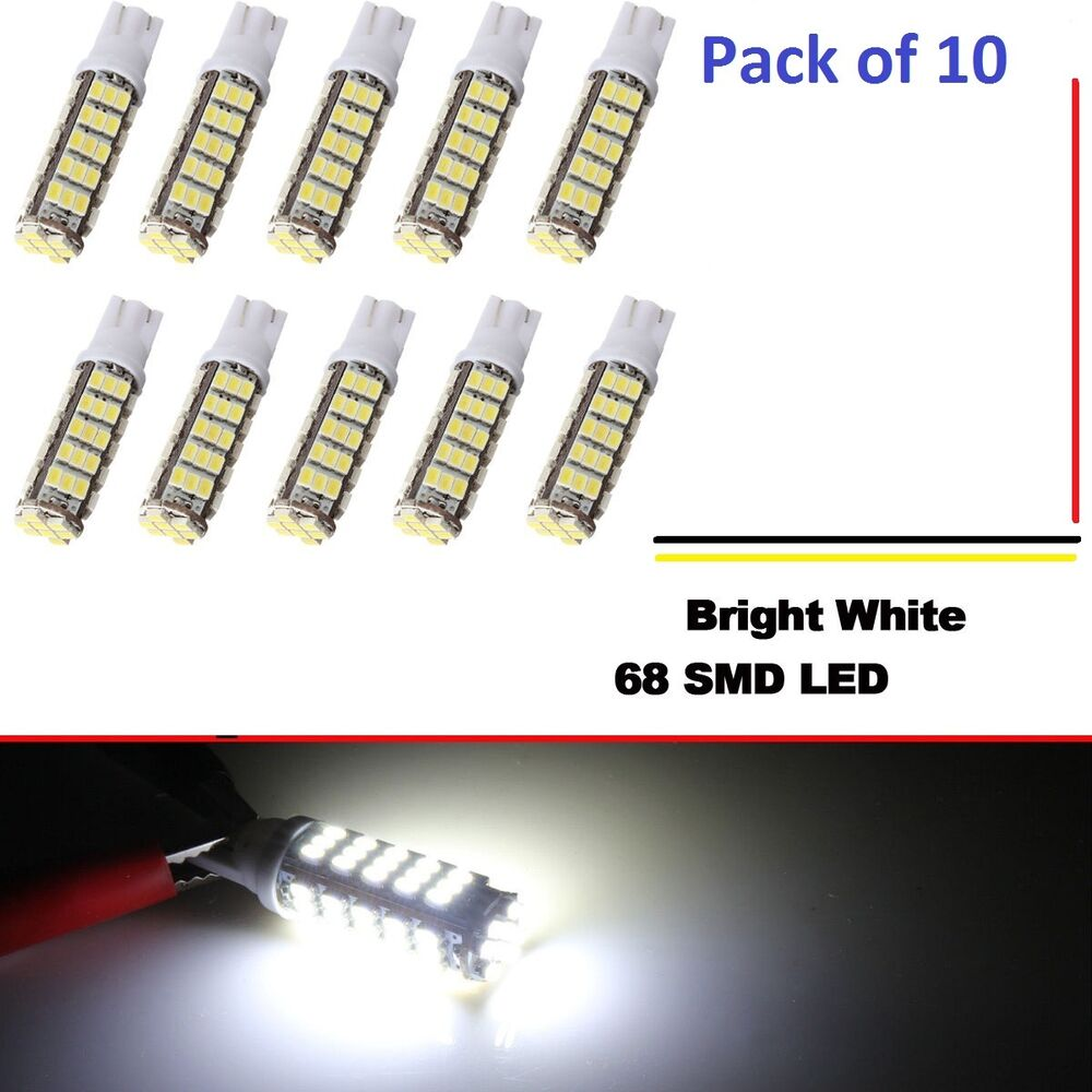 10 Pcs12V DC 68 LED Per Bulb For Malibu Landscape Lighting