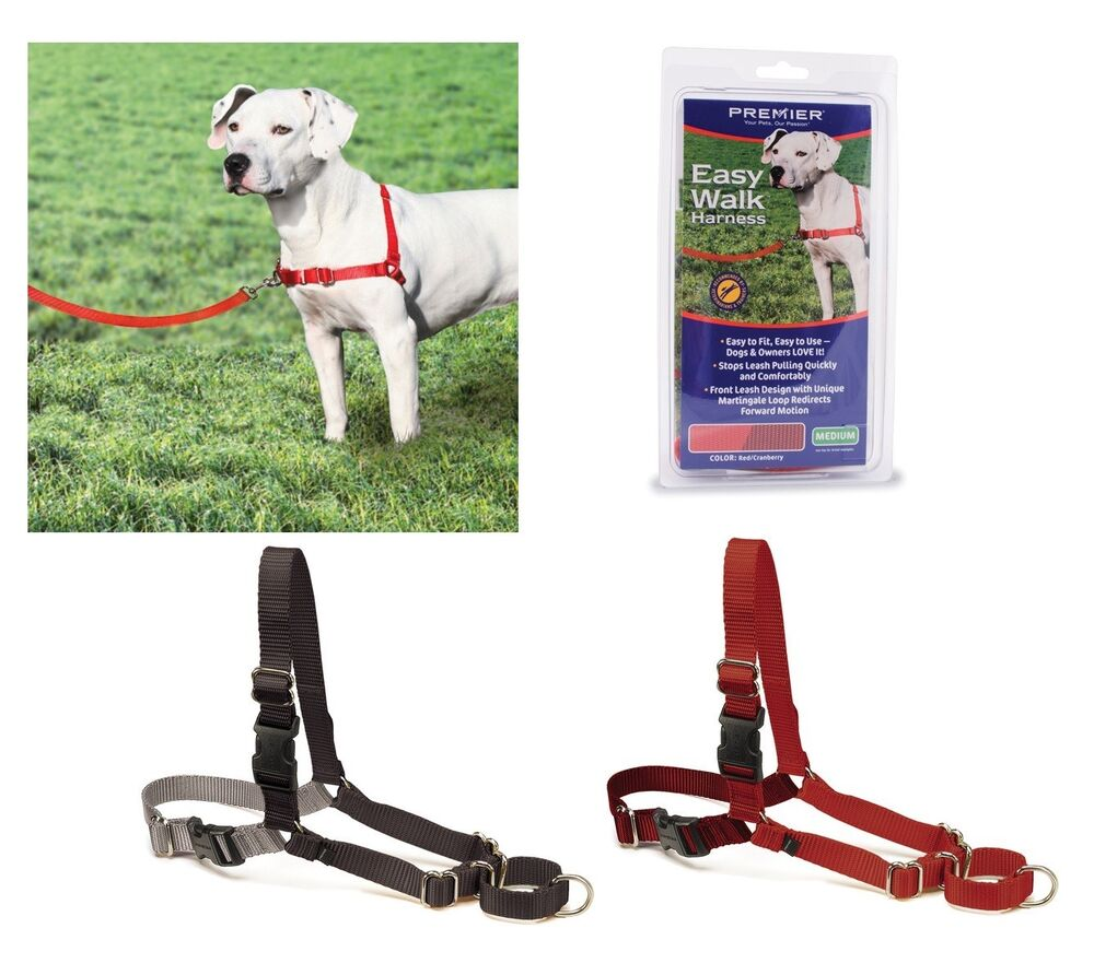 Easy Walk No Pull Dog Harness Gentle Steering Leading