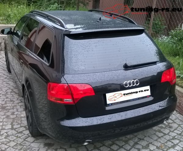 audi a4 b7 avant dachspoiler heckfl gel s look tuning rs. Black Bedroom Furniture Sets. Home Design Ideas