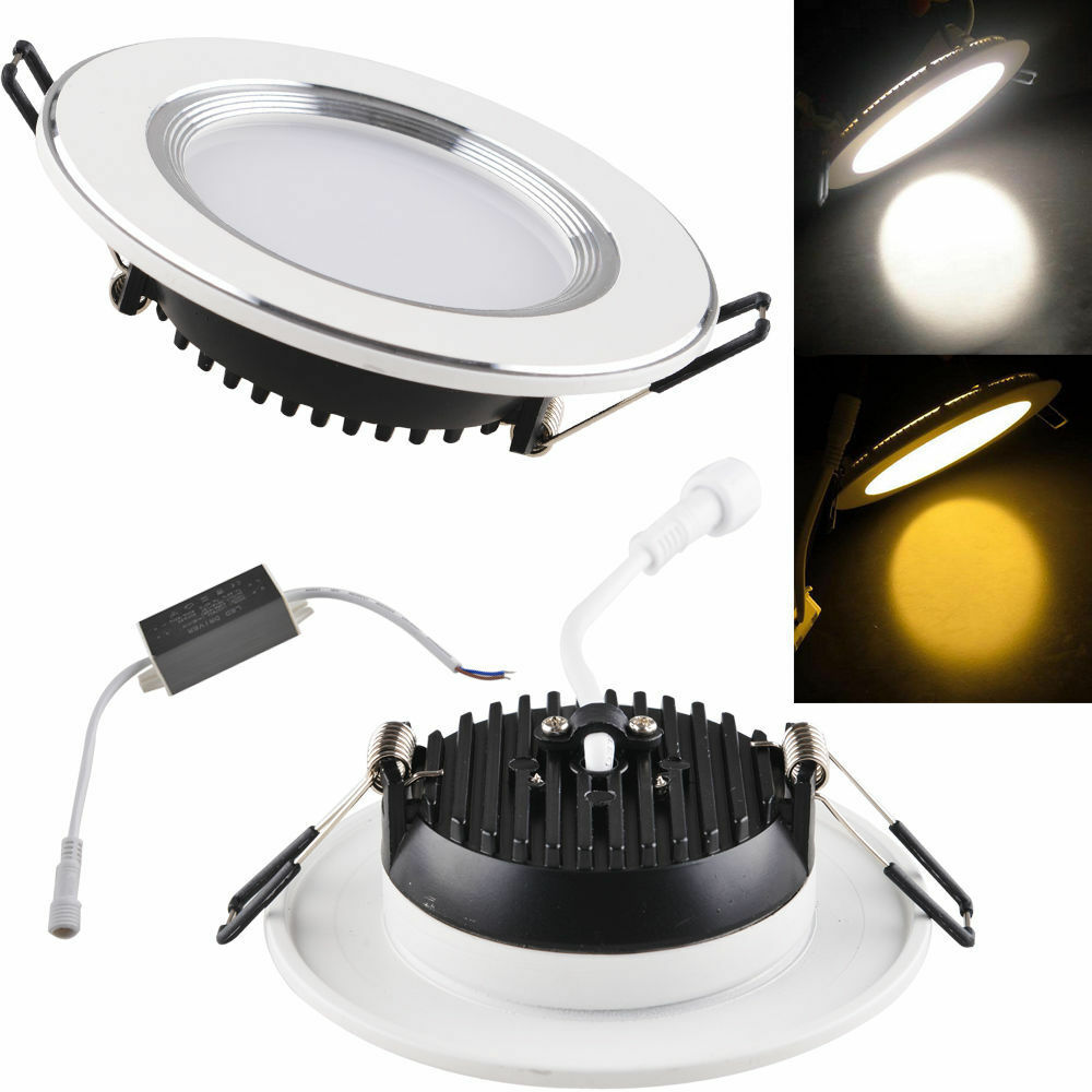 cree epistar 3w 5w 7w 9w 12w 15w led recessed ceiling panel down light. Black Bedroom Furniture Sets. Home Design Ideas