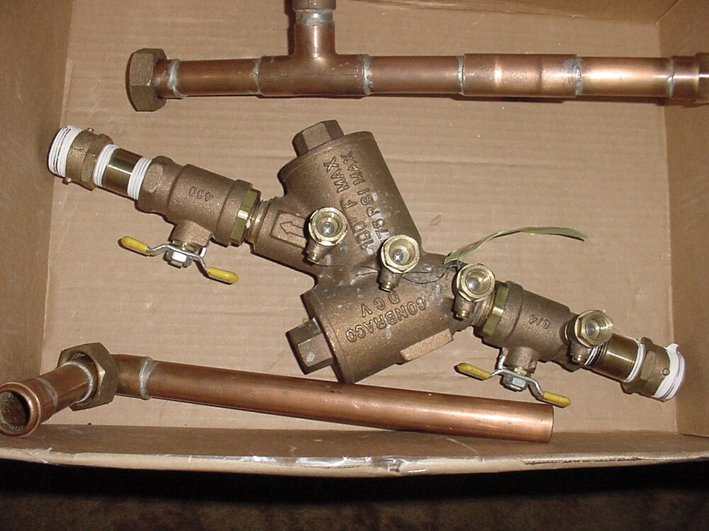 how to clean a backflow valve