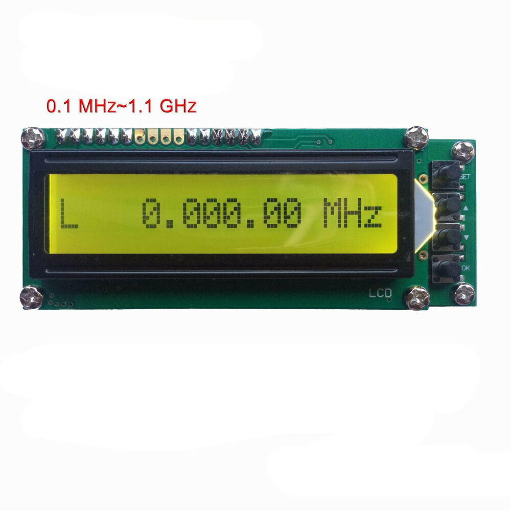 Radio Frequency Counter : ~ mhz ghz frequency counter tester