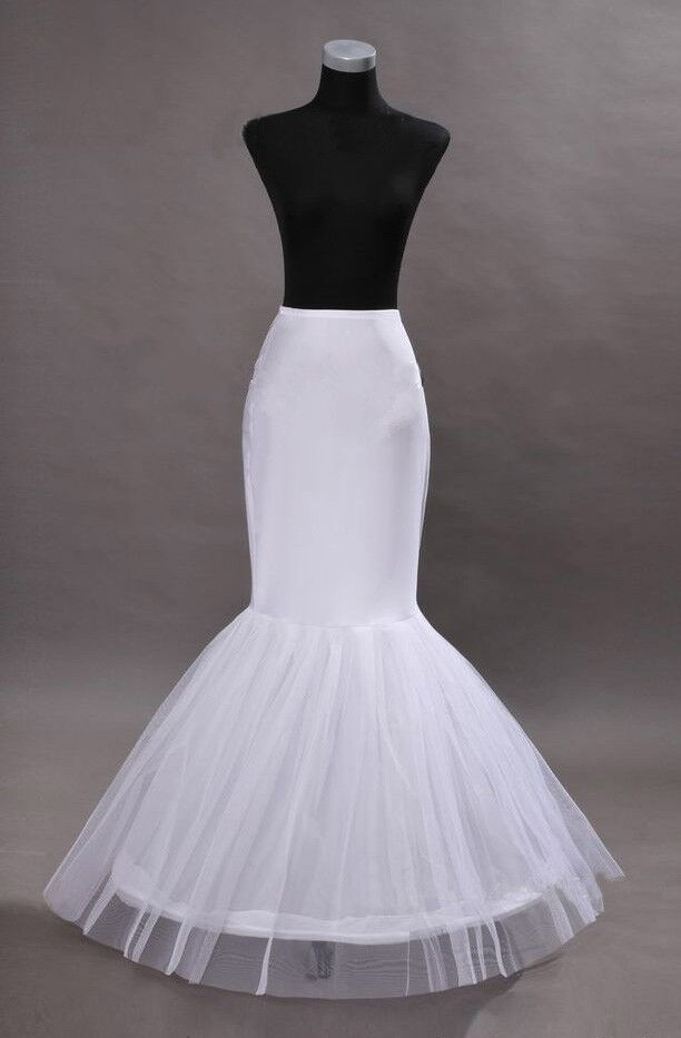 New hot 1 hoop mermaid fishtail crinoline petticoat for Sell your wedding dress online for free