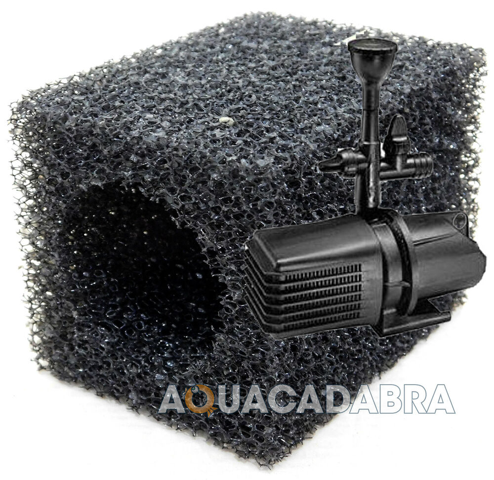 Replacement pre filter foam sponge for blagdon amphibious for Pond pre filter