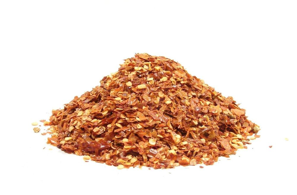 Red pepper flakes 8 oz crushed red pepper flakes chile for Chili flakes