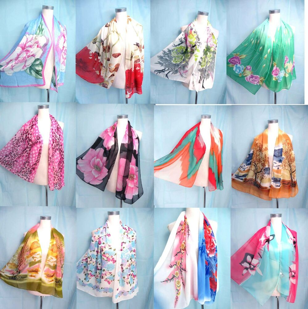 us seller lot of 5 wholesale scarves and shawls bohemian
