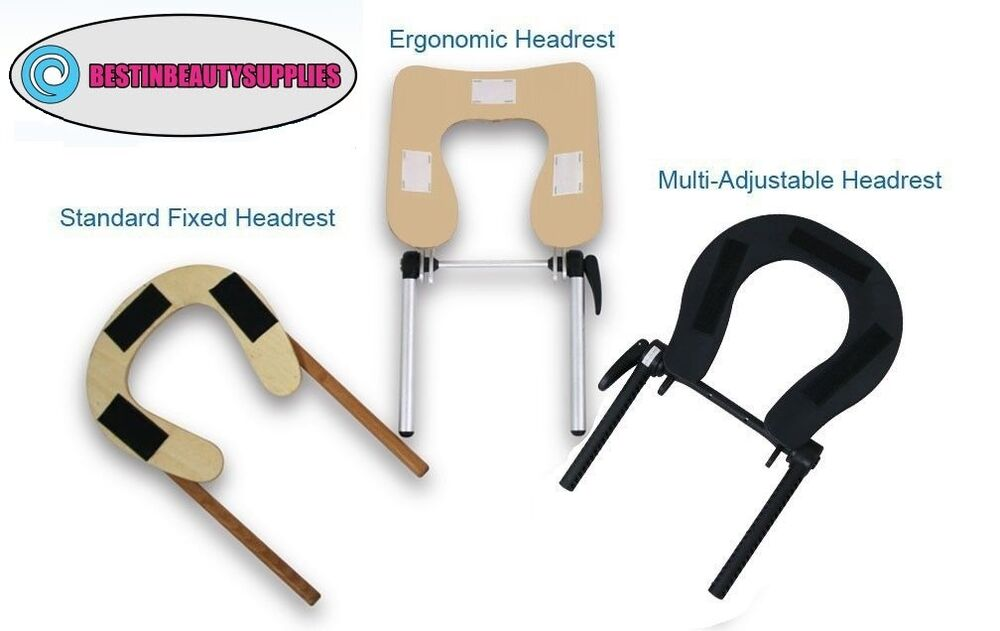 Adjustable headrest spa body work bed table head rest sizes ebay