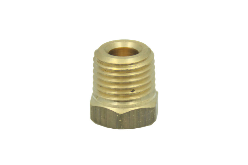 Lead free brass pipe hex head plug fittings quot male