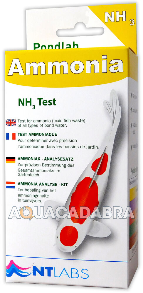 Nt labs pond ammonia test nh3 health waste check water for Ph for koi fish