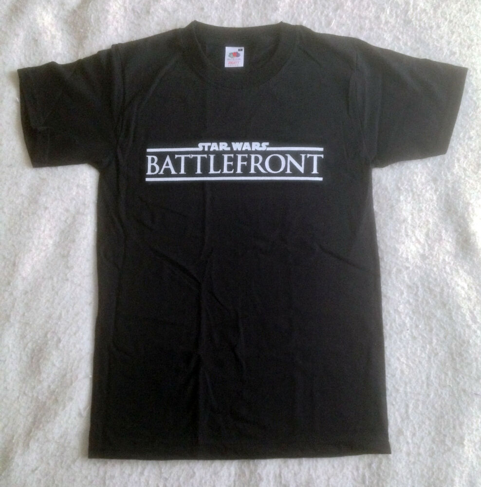 star wars battlefront t shirt ebay. Black Bedroom Furniture Sets. Home Design Ideas