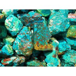 Kyпить 1000 Carat Lots of  Chrysocolla & Turquoise Rough - Plus a FREE Faceted Gemstone на еВаy.соm