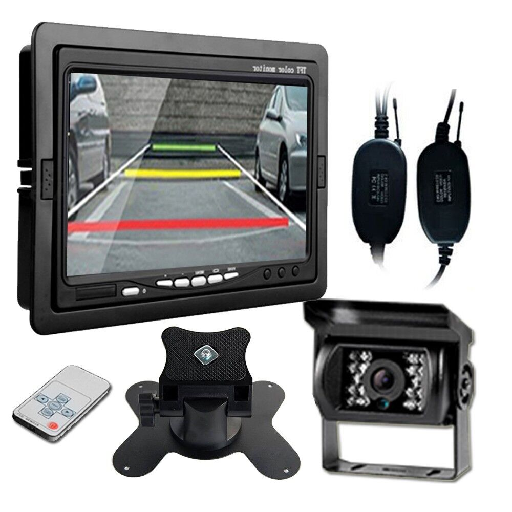 "Wireless Backup Camera For Truck >> 7"" TFT LCD Rear view Monitor + Wireless Backup Camera For ..."