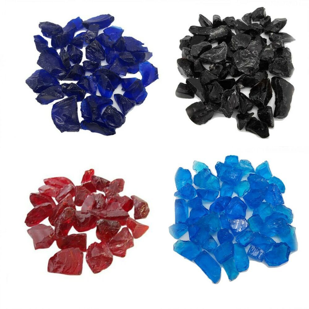Glass chippings stones colours memorial garden water for Colored stones for crafts