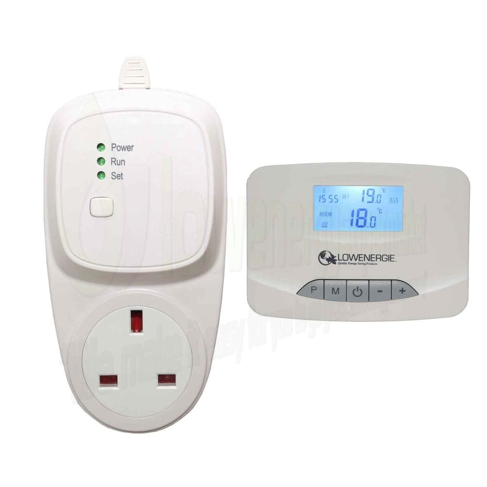 Digital Electronic Room Thermostat Wireless 7 Day