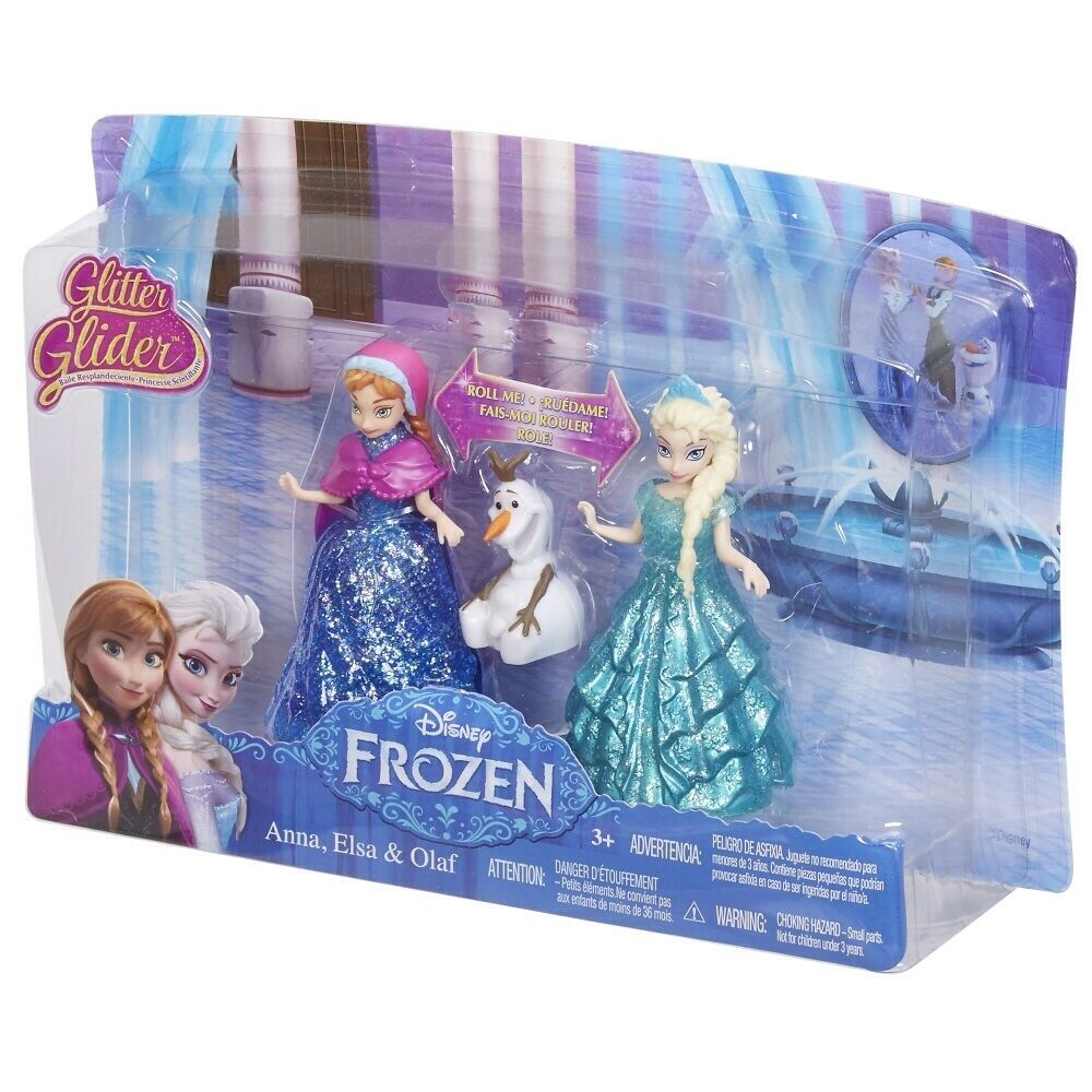 Cbm27 disney frozen glitter glider anna elsa and olaf plus - Frozen anna and olaf ...