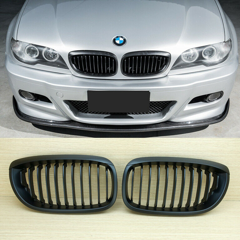 bmw e46 lci 2d coupe convertible front grills grille. Black Bedroom Furniture Sets. Home Design Ideas