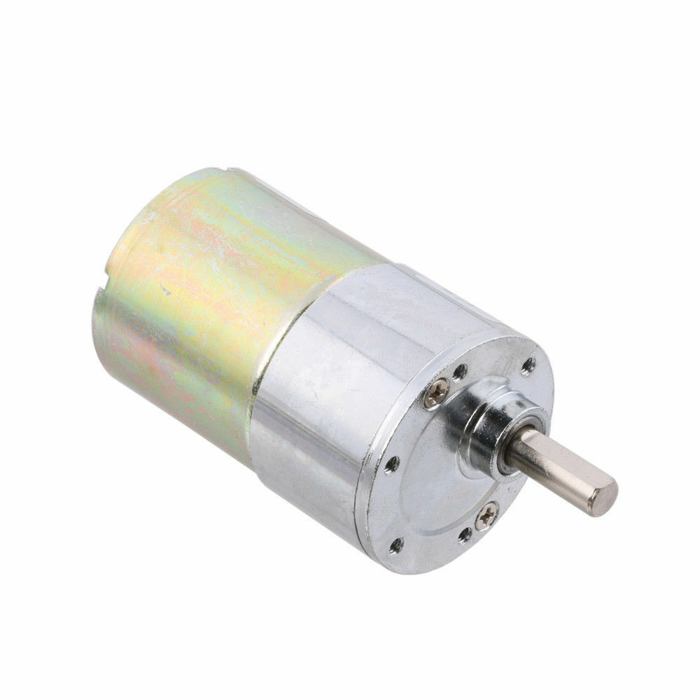Diameter 37mm 12v dc 30 rpm gear box speed control for Speed control electric motor