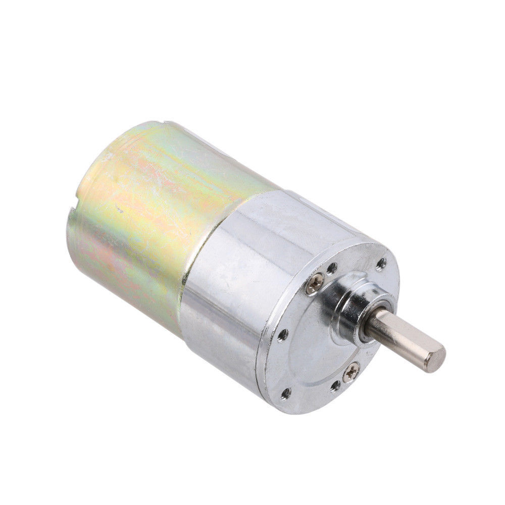 12v dc 60 rpm gear box speed control electric motor low for Low noise dc motor