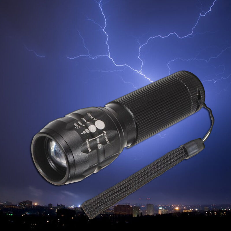 Led Yard Lights For Sale: HOT SALE Torch 500 Lumen Zoomable LED Flashlight Torch