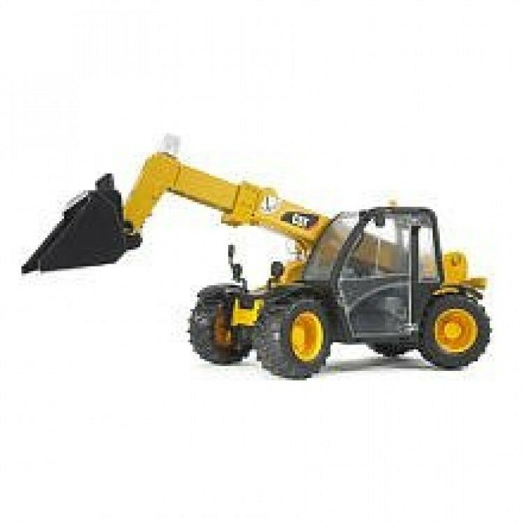Bruder Construction Toys : Bruder cat telehandler toy truck loader construction