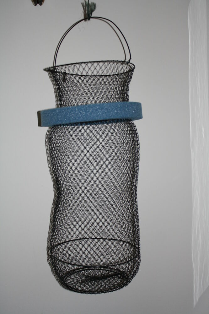 5g fish basket with removeable float fits inside a 5 for Fish wire basket