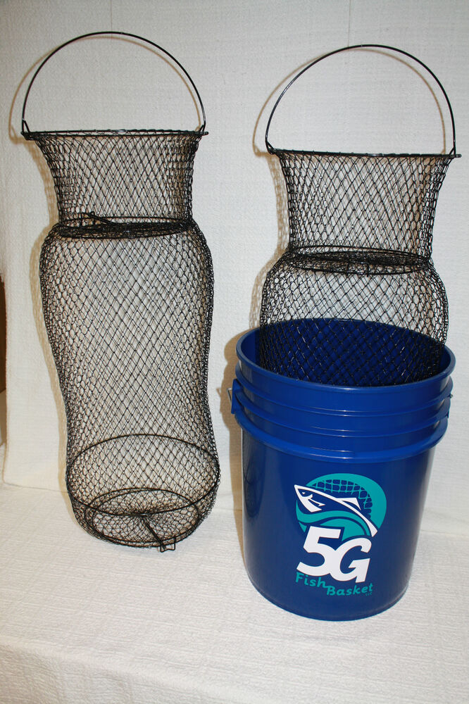 5g fish basket the only fish basket that fits a 5 gallon for Fish wire basket