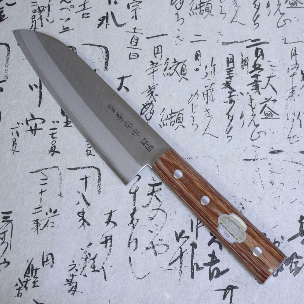 japanese kanetsune kitchen knife carbon steel stainless