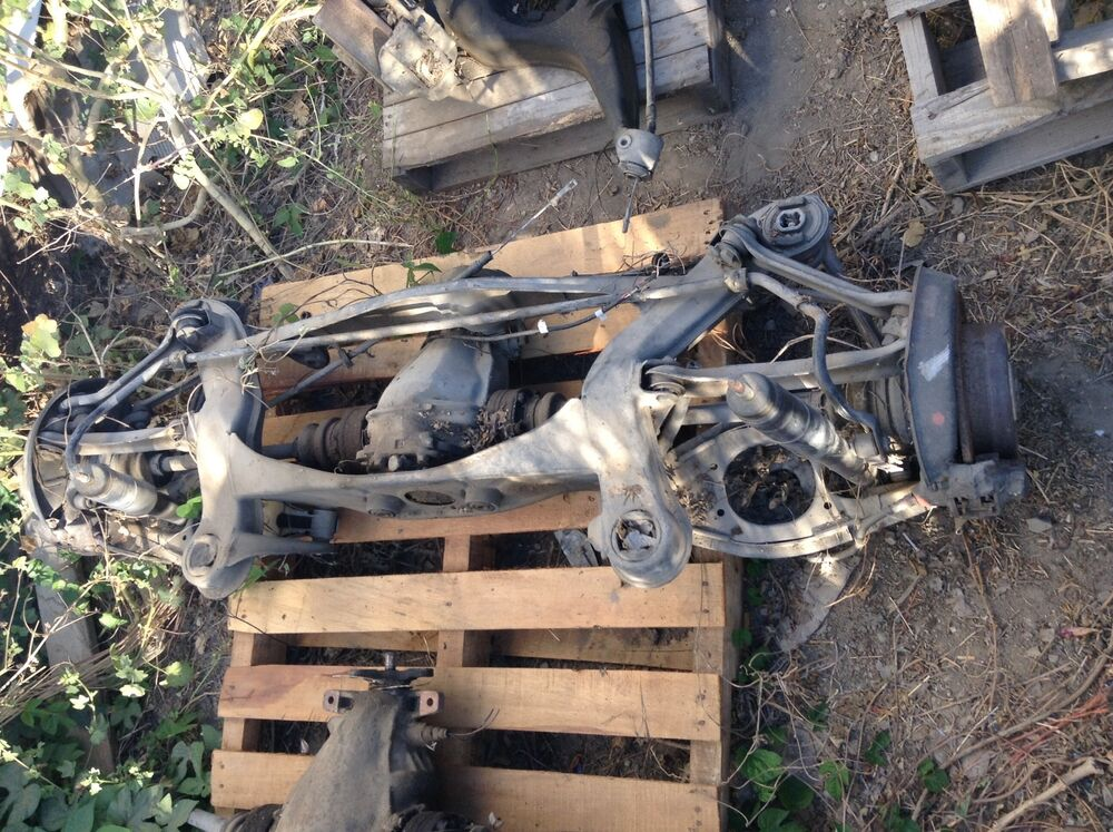 Mercedes complete rear axle differential assembly ebay for Mercedes benz axle assembly