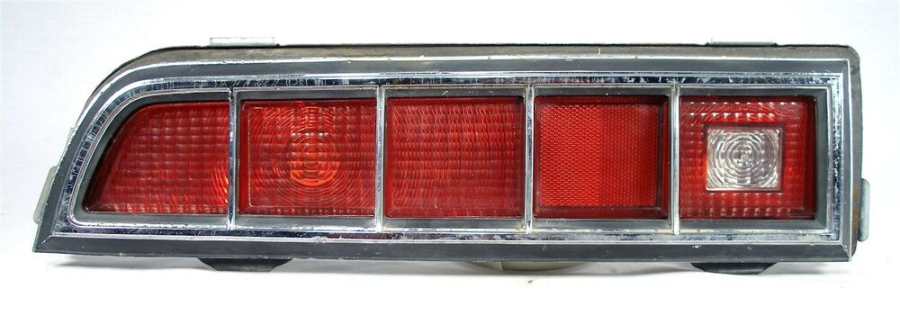 Ford Mustang Parts >> 1970 FORD ORIGINAL OEM TORINO 70 FE TAIL BACK UP LIGHT ...