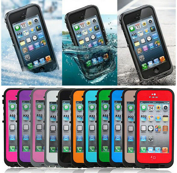 phone cases for iphone 5 waterproof shockproof dirt snow proof protective 3259