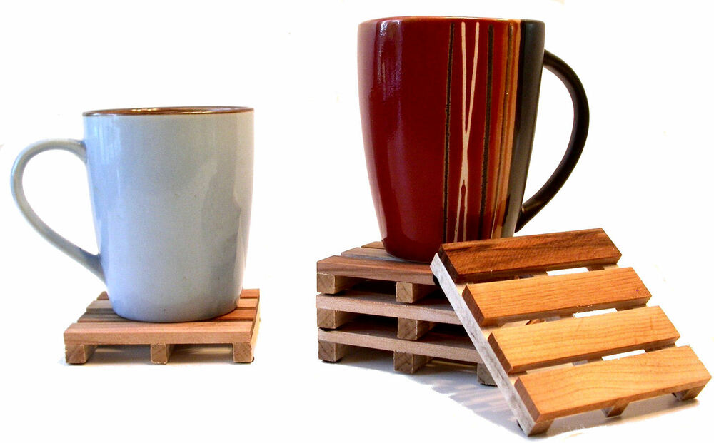 4 Beverage Pallet Drink Coasters The Original Pallet