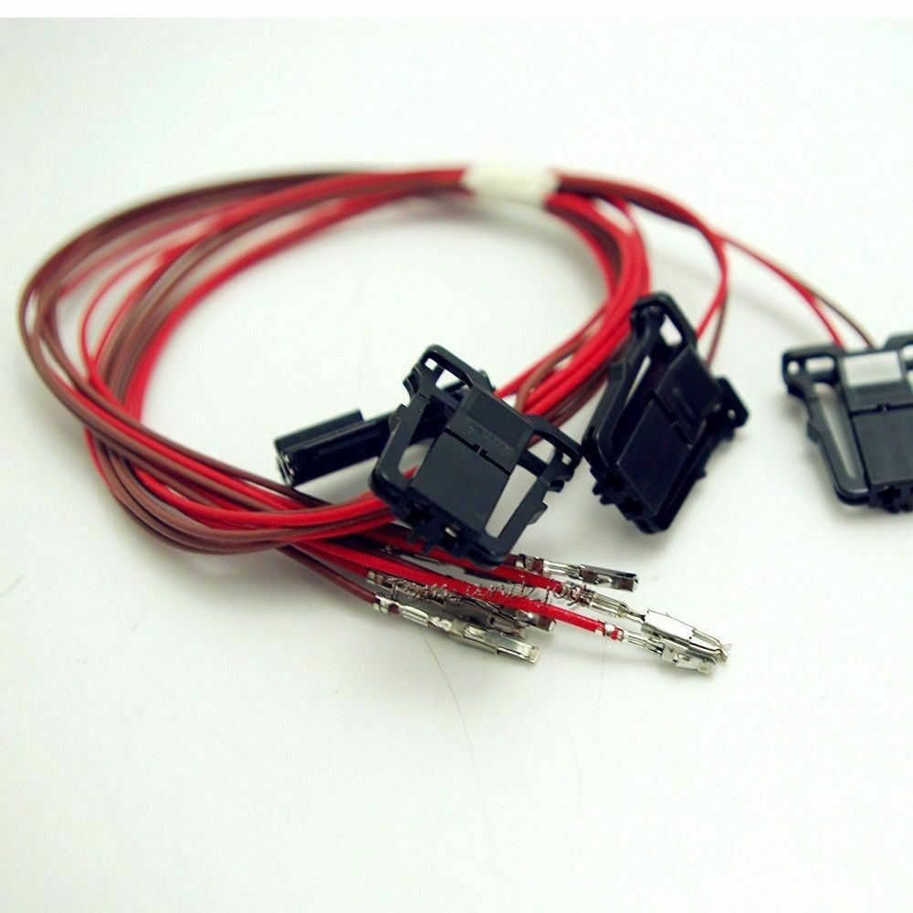 1x Led Door Warning Light Wire Harness Cable For Vw Golf Jetta Mk5 Wiring Mk6 Passat Cc Ebay