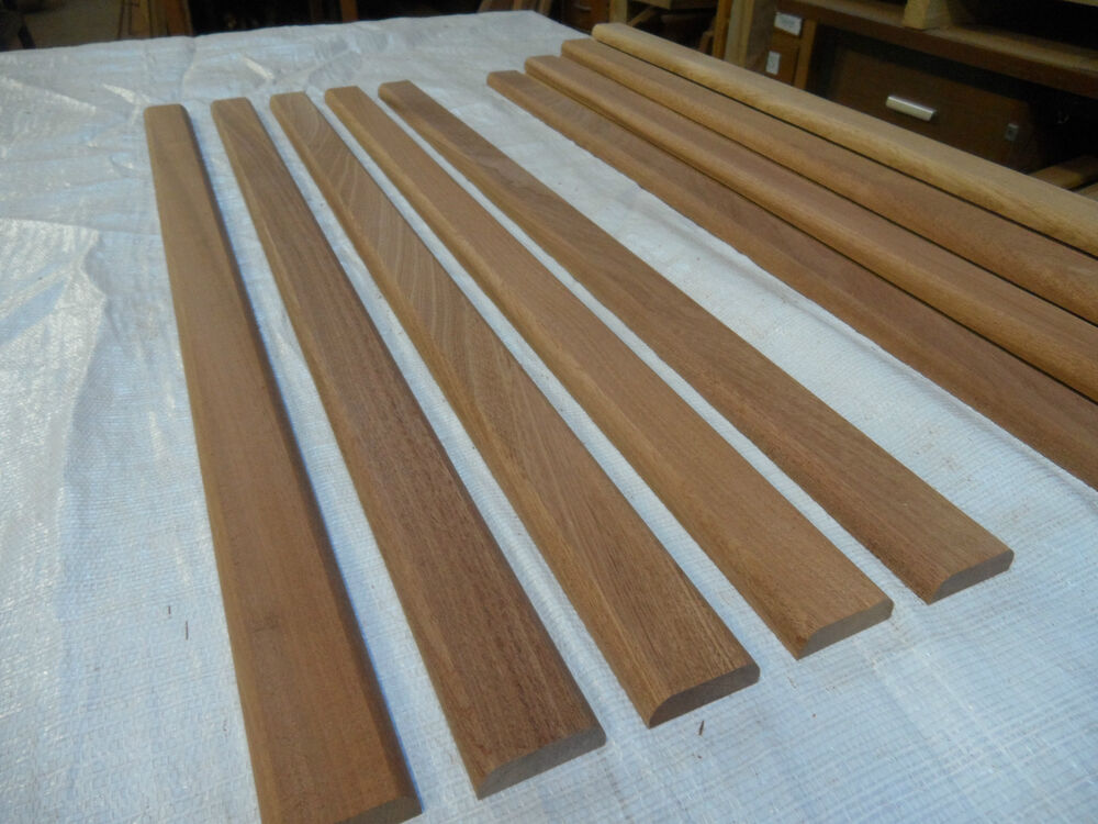 Hardwood Threshold Timber Sapele 85cm X 45mm X 15mm R2