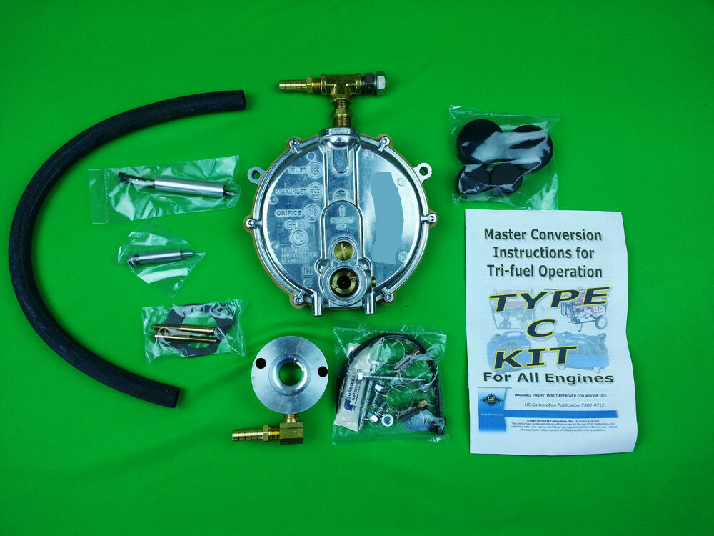 Honda Propane Generator Triple Fuel Conversion Kit For 4 6