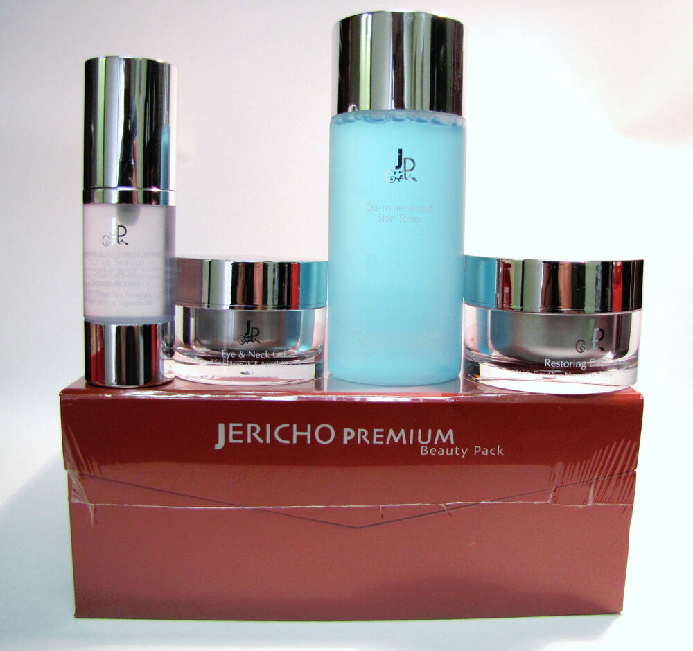 jericho premium beauty pack with toner day cream eye neck gel active serum ebay. Black Bedroom Furniture Sets. Home Design Ideas