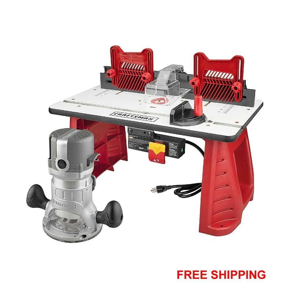 ... and Router Table Combo lumber woodworking aluminum base NEW | eBay
